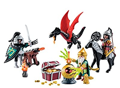 Playmobil 5493 Christmas Advent Calendar Dragons Treasure Battle