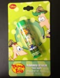Lotta Luv Disney Phineas and Ferb Sour Apple Flavored Lip Balm