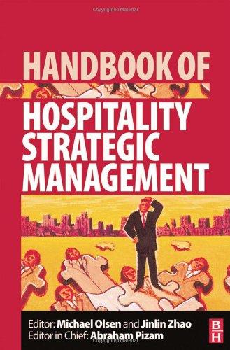 Handbook of Hospitality Strategic Management