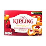 Mr Kipling Cherry Bakewells 6 Pack 150g