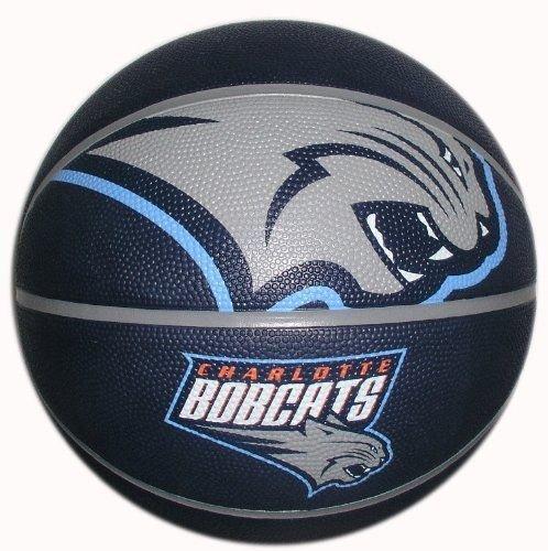 Spalding NBA Courtside Team Outdoor Rubber Basketball Charlotte Bobcats Official