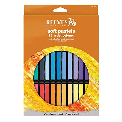 reeves-8790225-set-de-36-pasteles-suaves-multicolor
