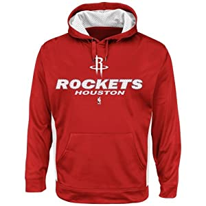 Majestic Houston Rockets Point Guard Invasion Pullover Hoodie - Red by Majestic