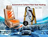 2 Seats Carbon Fiber Seat Heater Kits 3 Years USA Warranty