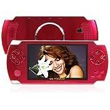 Reproductor MP5 Portátil 4GB HD TFT pantalla de 4.3 pulgadas FM Radio compatible con USB/SD/TF tarjeta rojo
