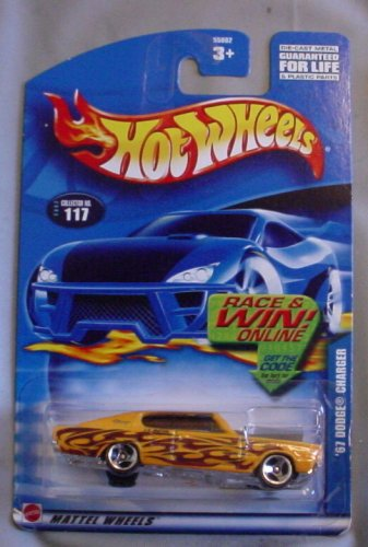Hot Wheels 2002 No. 117 '67 DODGE CHARGER