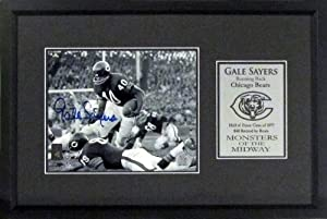 Chicago Bears Gale Sayers Autographed Monsters of the Midway 8x10 Photograph Display... by Sports Gallery Authenticated