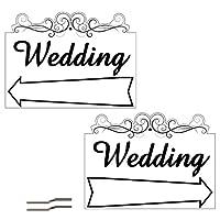 """18""""x24"""" 2 Sided Wedding Arrow Design - Lesbian Wedding Planning"""