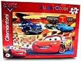 Disney Cars Super Color Puzzle 104 Piece Jigsaw