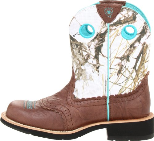 Ariat Women S Fatbaby Cowgirl Western Boot Brown Crinkle