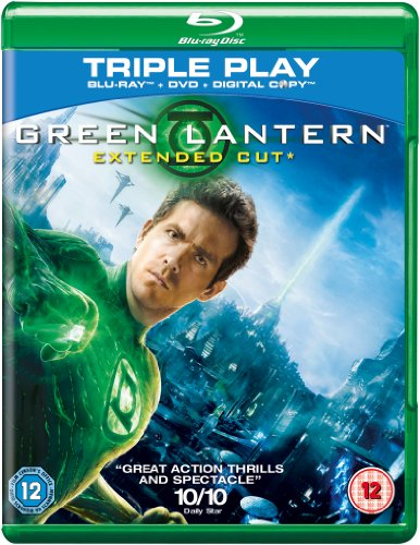 Green Lantern (Extended Cut) – Triple Play (Blu-ray
