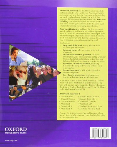 American Headway 4: Student's Book: Student Book Level 4 (American Headway First Edition)