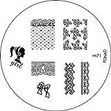 Konad Nail Art Image Plate M71 [Misc.]