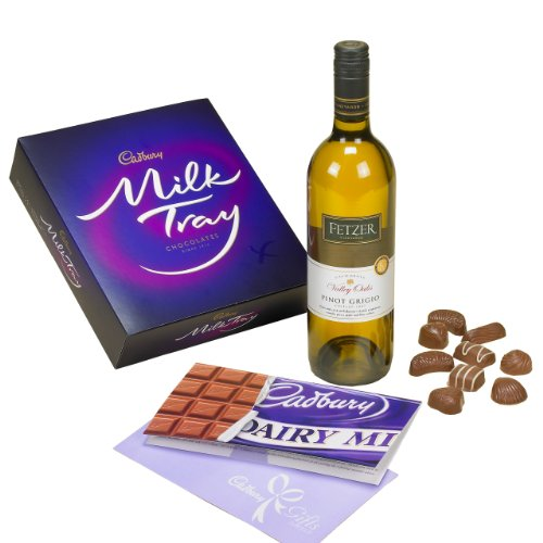 Wine & Cadbury Milk Tray