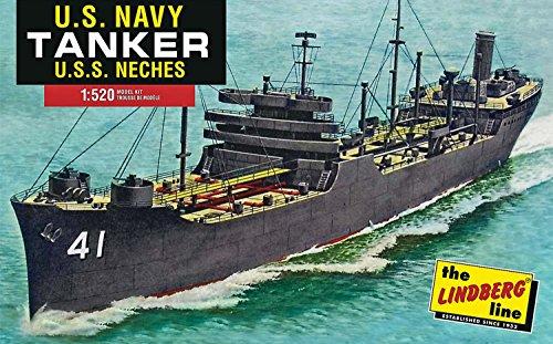 "Lindberg Models ln4380.525Scala ""U.S.S. neches WWII U.S. Navy Kennebec classe petroliera"" in plastica modello"