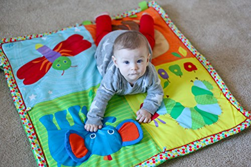 Kids Preferred - Eric Carle Baby Activity Gym with Pillow ...