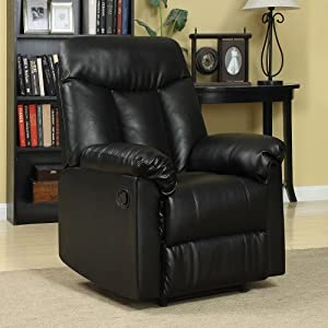 Media Room Leather Recliner | Happy Decorations