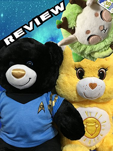 Care Bears Funshine Build A Bear Workshop Review & Star Trek 50th Anniversary Plushie Toy.