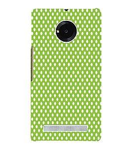 Light Green Zero 3D Hard Polycarbonate Designer Back Case Cover for YU Yureka Plus