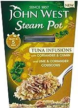 John West Steam Pot Tuna with Coriander amp Cumin amp Couscous 150g