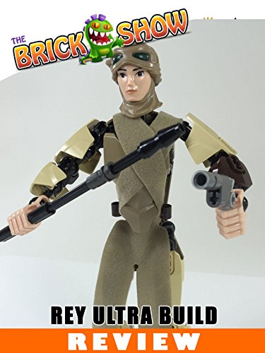 LEGO Star Wars Rey Ultra Build Review (75113)