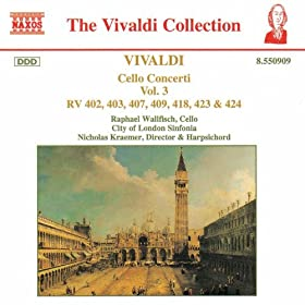 Cello Concerto in D minor, RV 407: III. Allegro