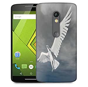 Snoogg Eagle Designer Protective Phone Back Case Cover For Motorola Moto X Play