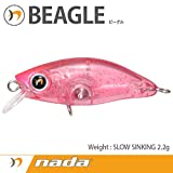 nada(ナダ) BEAGLE (SS) クリアピンクレッドグリッター 33687