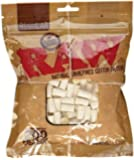200pc Raw Unbleached Filters - Unrefined Cotton Cigarette Filters