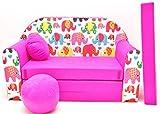 H9�Ni�os Bar Dormir emergente sof� sof� sof� Mini sof� 3�en 1�Baby Set +�-�Sill�n infantil y asiento coj�n + colch�n