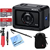 Sony RX0 1.0-type Sensor Ultra-Compact Camera w/ Waterproof + Shockproof Design Kit