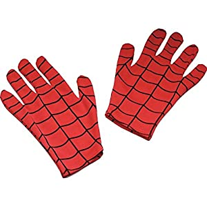 Disguise Marvel Spider-Man Child Gloves Costume Accessory, One Size Child