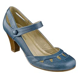 Women&#039;s Xhilaration Sugar Mary Jane Pumps - Blue : Target from target.com