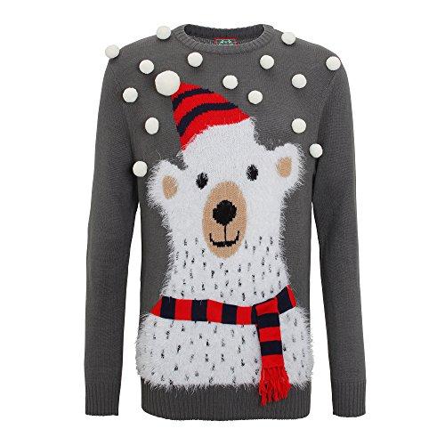 Polar Bear Christmas Jumper With