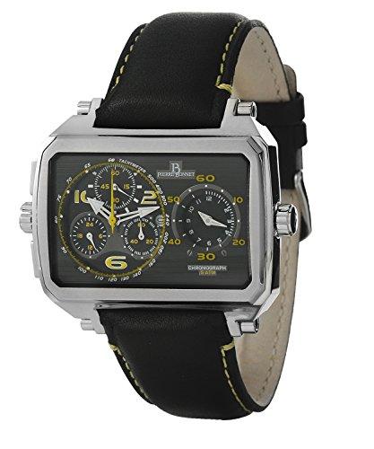 PIERRE BONNET - Orologio Pierre Bonnet cronografo da uomo con cassa in acciaio e movimento a quarzo. R. 7114