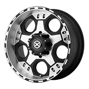 American Racing ATX Justice AX1847 Matte Black Machined Wheel (18x9