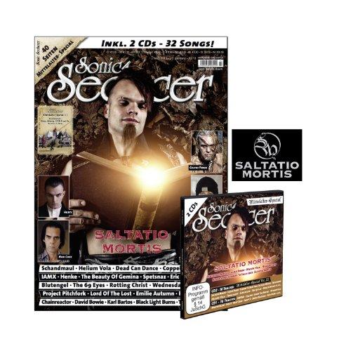 Sonic Seducer 03-13 limited Edition mit Saltatio-Mortis-Titelstory und 40 Seiten Mittelalter-Special + XL-Sticker von Saltatio Mortis + 2 CDs, Bands: Subway To Sally, Blutengel, Kant Kino u.v.m.