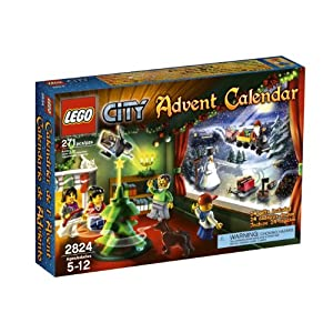 Amazon - LEGO® City Advent Calendar 2824 - $33.79