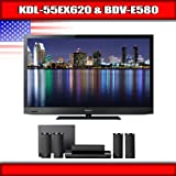 "Sony KDL-55EX620 - 55"" BRAVIA LED-backlit LCD TV + Sony BDV-E580 - 5.1 Chan ...."