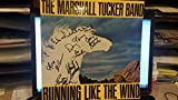 """* MARSHALL TUCKER BAND * signed """"Running Like the Wind"""" album cover by 6"""