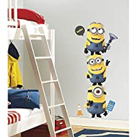 Roommates Rmk2081Gm Despicable Me 2 Minions Giant Peel And Stick Giant Wall Decals from RoomMates