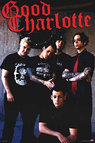 Good Charlotte 11 x 17 Music Poster (Good Charlotte Poster compare prices)