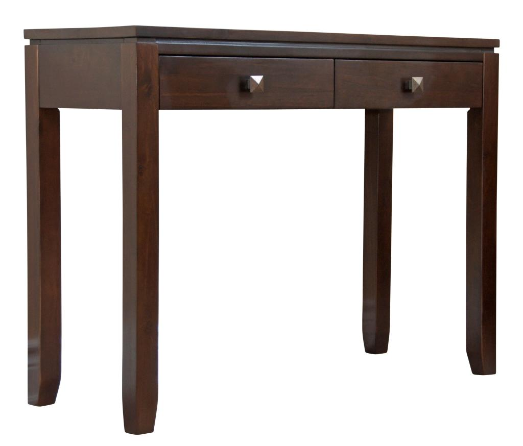 Simpli home cosmopolitan collection console for Sofa table 50 inches