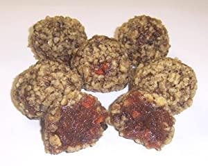 Scott's Cakes Carrot Cake Ball Treats with Ground Walnuts in a 1/2 lb. White Gourmet Box