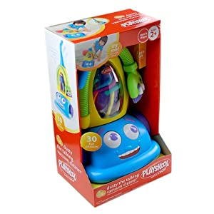 Playskool Rolling Crew Dusty the Talking Vacuum Cleaner: Toys & Games