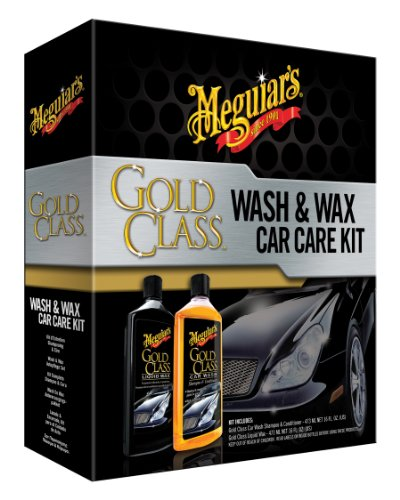 Meguiar's Gold Class Wash and Wax Kit