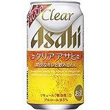 アサヒ クリアアサヒ 350ml缶×24本 ランキングお取り寄せ