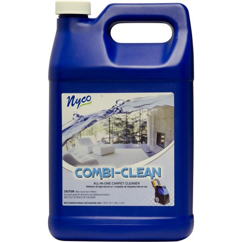 Nyco Products Nl90361 Combi-Clean All-In-One Carpet Cleaner, Citrus Scent, 3.0 - 6.0 Ph, 1 Gallon Bottle (Case Of 4) front-469135