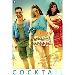 Cocktail (2012) (Hindi Movie / Bollywood Film / Indian Cinema DVD) With Cocktail -OST  2012  Audio CD