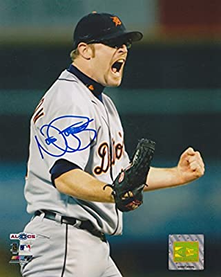Nate Robertson Detroit Tigers MLB 8x10 Autographed Photograph - WIN